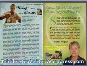 Blesstea, Manfaat Blesstea, Testimoni Teh Blesstea, Testimoni Blesstea