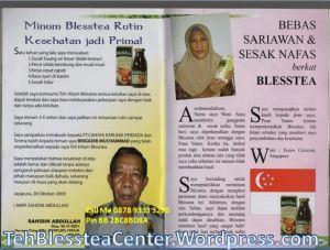 Testimoni Blesstea, Harga Blesstea, Teh HItam BLesstea Bubuk, Manfaat Teh Hitam Blesstea